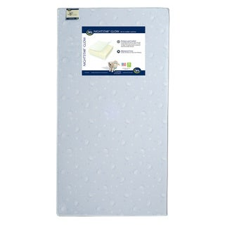 Nightstar Glow Crib and Toddler Mattress