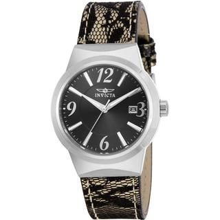 Invicta INV5807 Women's Angel Leather Strap Watch