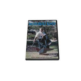 Okinawan Karate Kobudo Bo Tongfa Sai Tan Bo Weapons DVD Gaviola & Ricci #236