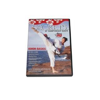 Secrets Championship Karate Kihon Pinon Kata Forms Basics DVD WKF women girls
