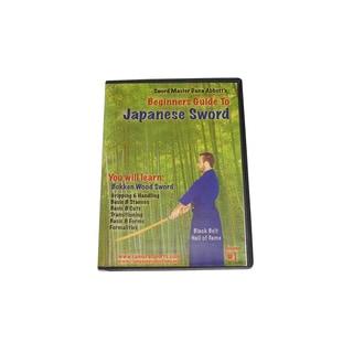 Beginner Guide Japanese Samurai Sword Bokken Wood Training DVD Dana Abbott