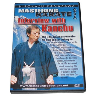 Mastering Karate #8 InterviewMaster Hirokazu Kanazawa DVD RS 170 jka budo