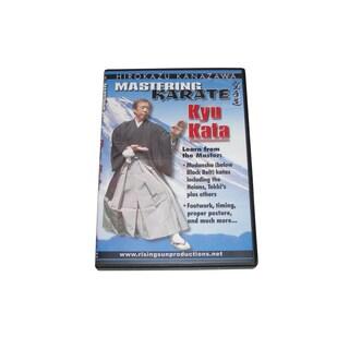 Mastering Karate #4 Te Waza Hirokazu Kanazawa katas DVD #RS 166 jka heian bunkai