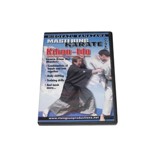 Mastering Karate #3 Kihon Ido Hirokazu Kanazawa DVD #RS165 jka combos & drills