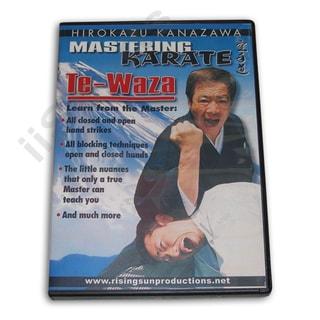 Mastering Karate #1 Te Waza Hand Techniques H Kanazawa DVD #RS163 SKIF shotokan