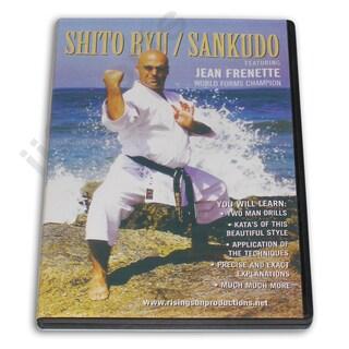 Shito Ryu Sankudo Sankukai Karate DVD Jean Frenette Yoshinao Nanbu Chojiro Tani