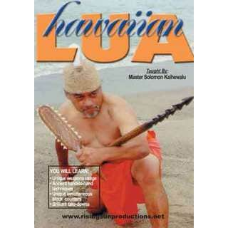 Hawaiian Lua Self Defense Martial Arts DVD Salomon Kailewalu weapons empty hand