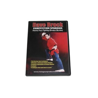 Competition Sparring Karate Free Fighting Broken Rhythm DVD Dave Brock RS73