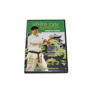 Japanese Shito Ryu Karate Do Original Katas DVD Tomiyama RS47 RARE martial arts
