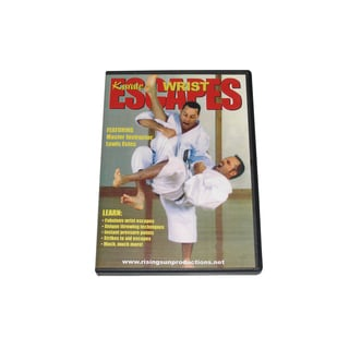 Motobu Ha Shioto Ryu Karate Wrist Escapes DVD Estes pressure points throws