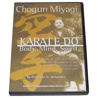 Chogun Miyagi Okinawan Goju Ryu Karate Do DVD George Alexander Miyazato Eichi