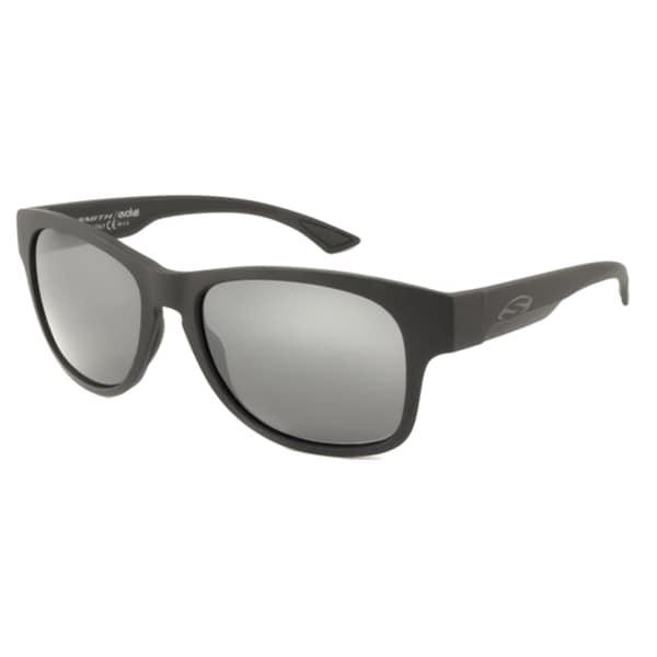 ce1171df52 Smith Optics Men  x27 s Unisex Wayward Polarized  Rectangular Sunglasses