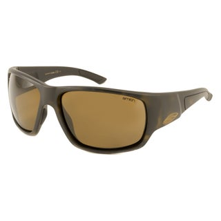 Smith Optics Men's Dragstrip Polarized/ Wrap Sunglasses