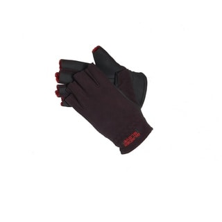 Glacier Gloves Alaska River Fingerless Glove Black