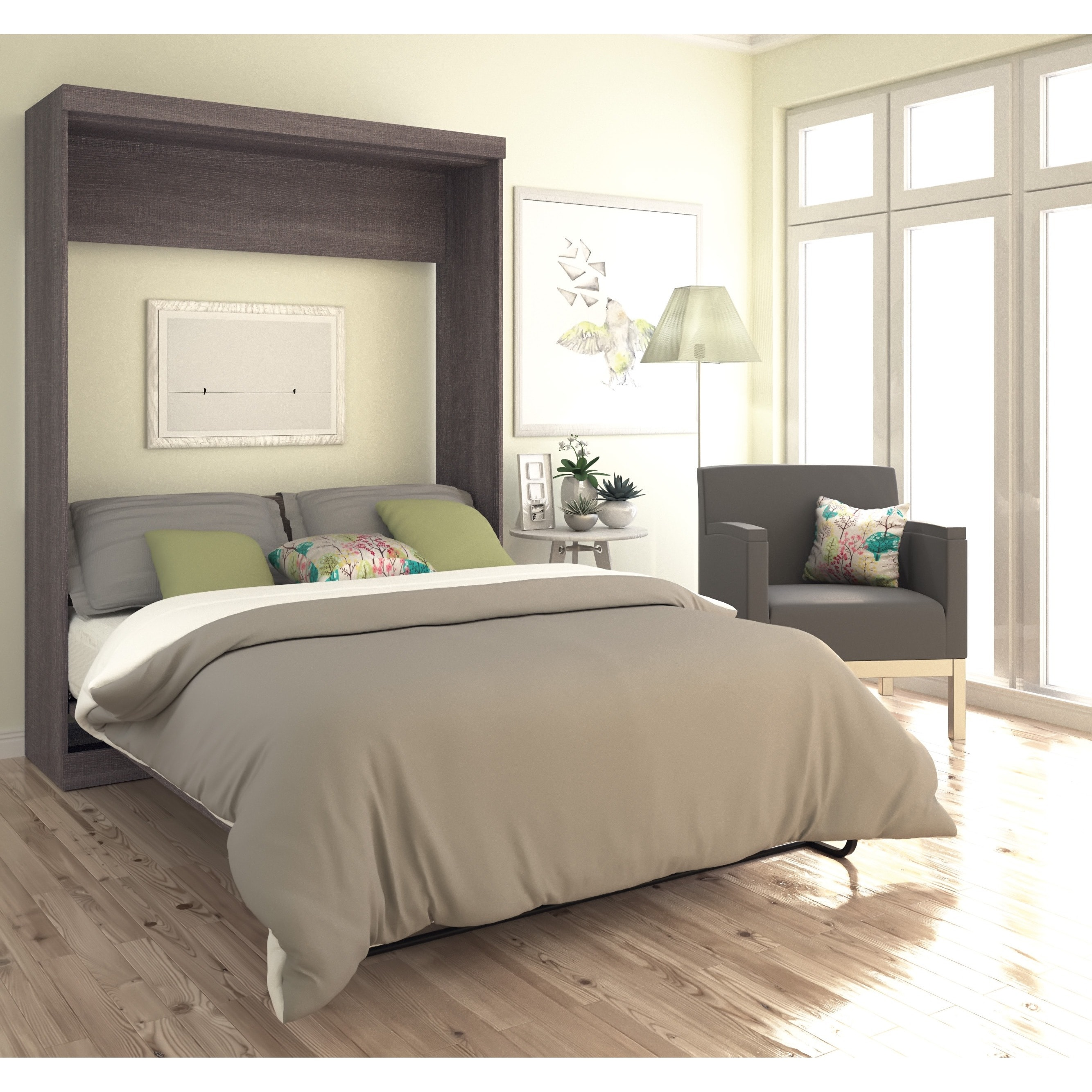 factory price 96cd6 2b847 Bestar Pur Queen-size Wall Bed