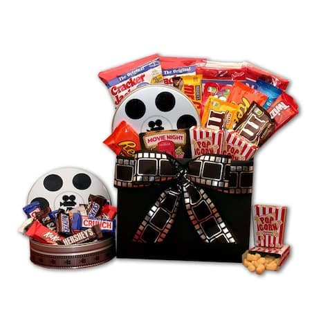Movie Fest Movie Gift Box with 10.00 RedBox Gift Card