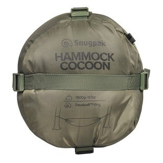Snugpak Hammock Cocoon with Travelsoft Filling, Olive