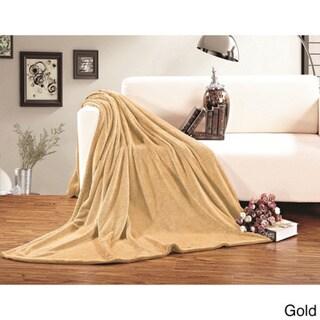 Elegant Comfort Ultra-super Soft Fleece Blanket