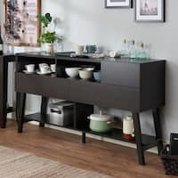 The Gray Barn Red River 60-inch 3-drawer Dining Buffet