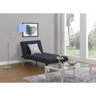 DHP Emily Navy Chaise Lounger