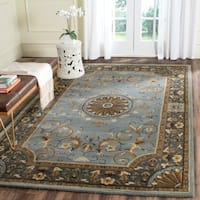 Safavieh Hand-Tufted Empire Blue Wool Rug - 5' x 8'