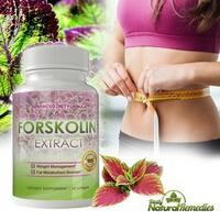 Forskolin 250mg Pure Coleus Forskohlii Root for Weight Loss (2 Packs of 60 Softgels)