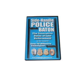 Side Handle Police Baton Karate Tonfa Training DVD Sid Campbell pr24 #RS90 pr-24