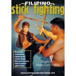 Filipino Martial Arts Escrima Stick Fighting DVD Griffins Kali Arnis Eskrima jkd