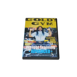 Weight Strength Training Gold's Gym #3 Advanced DVD Charles Glass bodybuilding