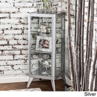 Furniture of America Linden Modern 3-shelf Metal Cabinet