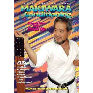 Traditional Okinawan Karate Makiwara Conditioning DVD iron geta chi Eihachi Ota