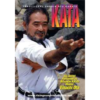Traditional Okinawan Shorin Ryu Karate 18 Katas DVD Master Ota NEW how to