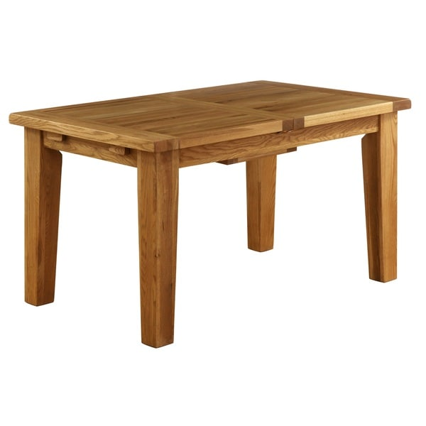 Vancouver 6 Foot Dining Table With Built In Extension Leaf   Free Shipping  Today   Overstock.com   17793386