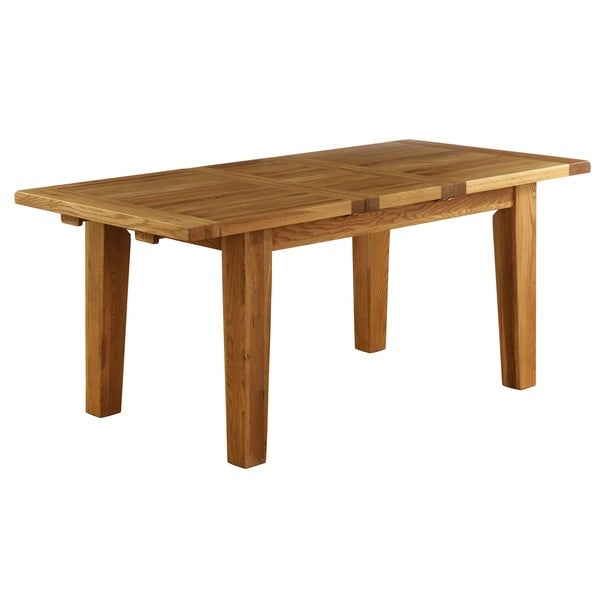 Vancouver 6 Foot Dining Table With Built In Extension Leaf