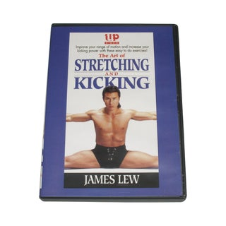 Art of Stretching & Kicking DVD James Dragonmaster Lew LEW1-D martial arts