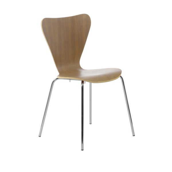 Tendy Walnut Dining Chairs Set Of 4