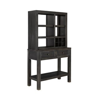 Signature Design by Ashley Gavelston Black Hutch