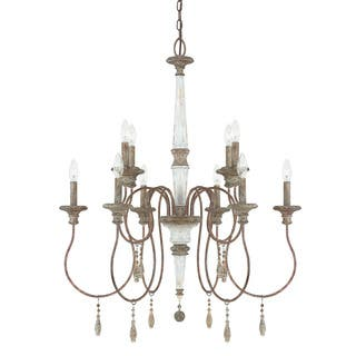 Austin Allen Company Zoe Collection 10 Light French Antique Chandelier