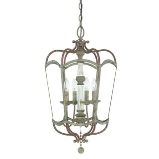 Austin Allen & Company Zoe Collection 4-light French Antique Foyer Pendant