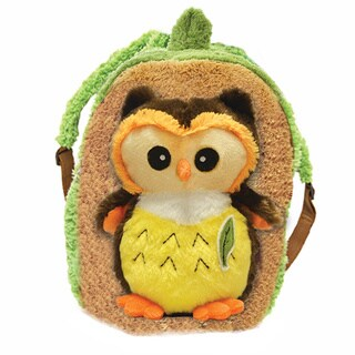 Plush Best Buddy Toddler Backpack Bright Eyes Owl