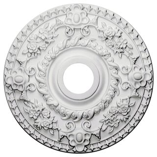 Ceiling Medallion 18-inch Round with Rich Details