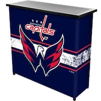 NHL Portable Bar with Case - Washington Capitals