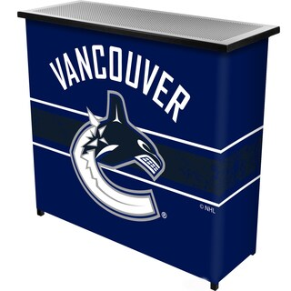NHL Portable Bar with Case - Vancouver Canucks