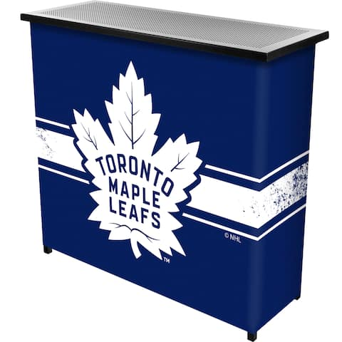 NHL Portable Bar with Case - Toronto Maple Leafs
