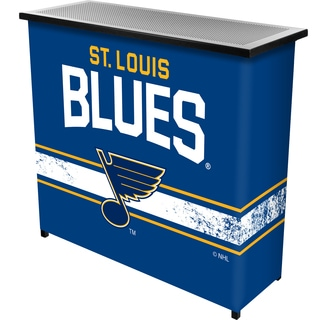 NHL Portable Bar with Case - St. Louis Blues