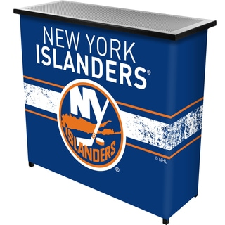 NHL Portable Bar with Case - New York Islanders