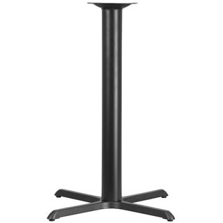 42-inch Contemporary Black Restaurant Table Base