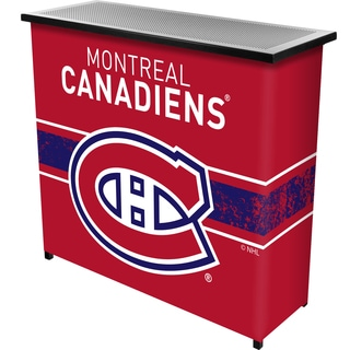 NHL Portable Bar with Case - Montreal Canadiens