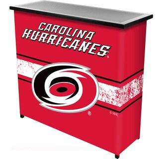 NHL Portable Bar with Case - Carolina Hurricanes