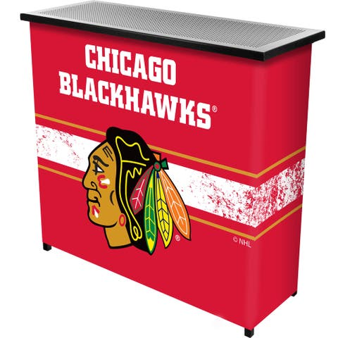 NHL Portable Bar with Case - Chicago Blackhawks